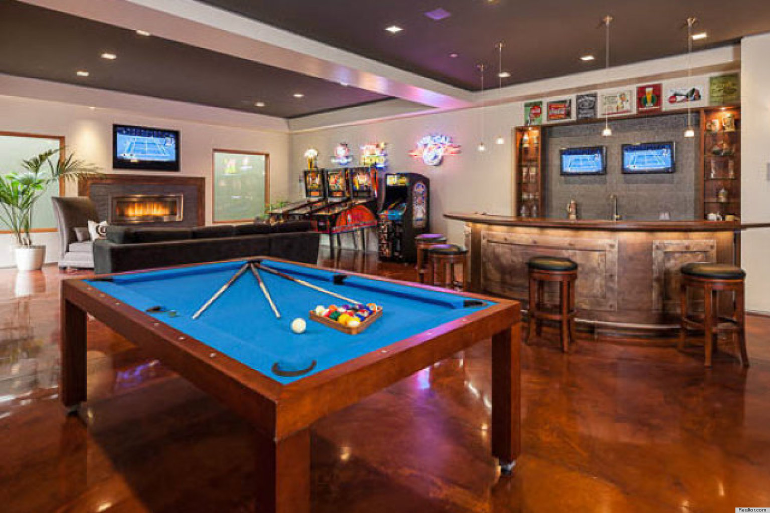 10 stunning home bars that are always ready for guests photos - Designing a basement bar ...