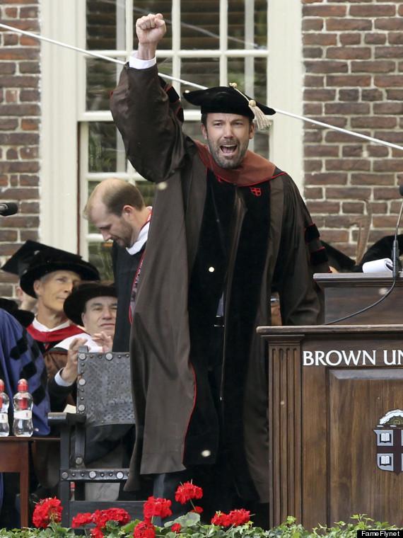 ben affleck honorary degree