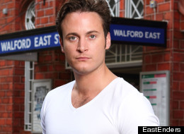 Gary Lucy Makes A Splash In Walford