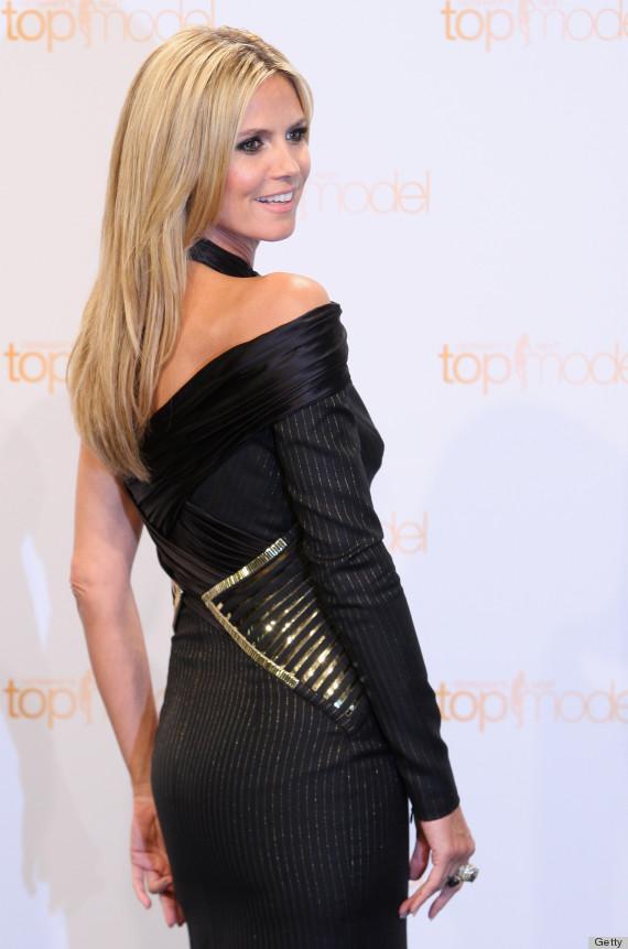 heidi klum top model dress
