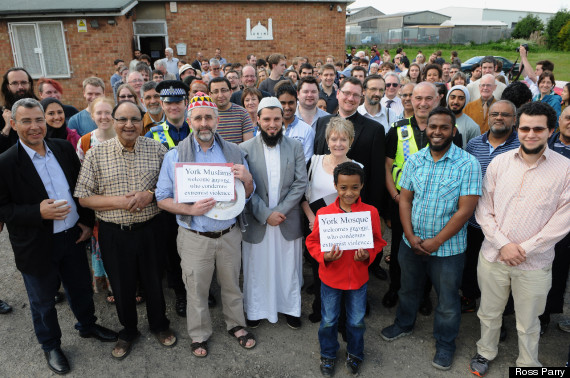 mosque york edl tea
