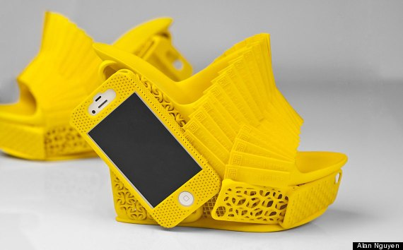 3d printed iphone holder shoes