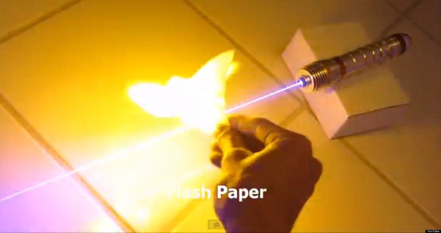 Homemade Lightsaber Is Terrifyingly Powerful Video