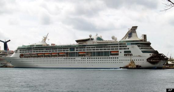 fire royal caribbean cruise ship