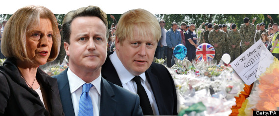 WOOLWICH EXTREMISM ATTACK CAMERON MAY JOHNSON