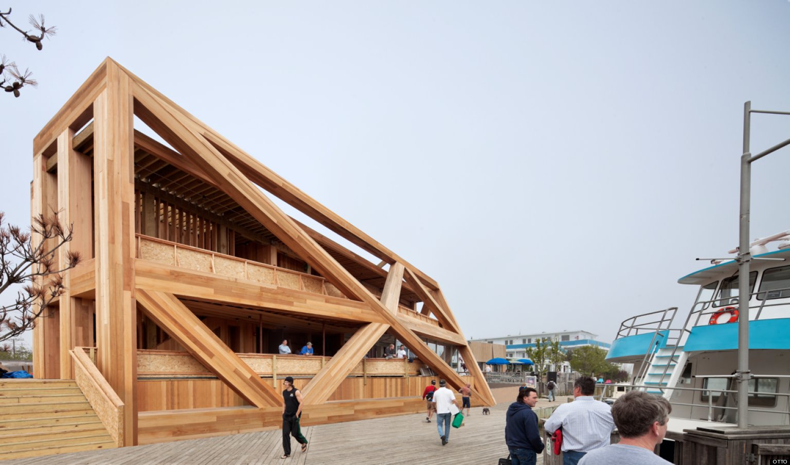 Fire Island Pines Pavilion Architect Matthias Hollwich On The Landmark S Redesign Photos Huffpost