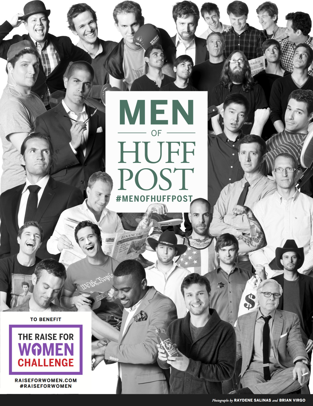 men of huffpost calendar