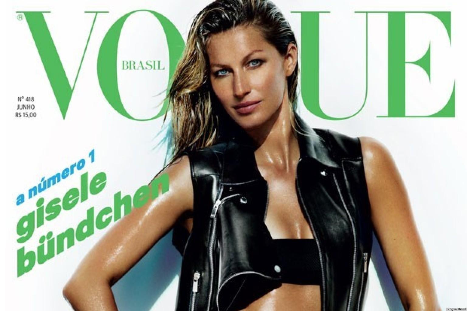 Gisele Bundchen Vogue Brazil Cover Is Sweaty, Pantsless ... Gisele Bundchen Facebook