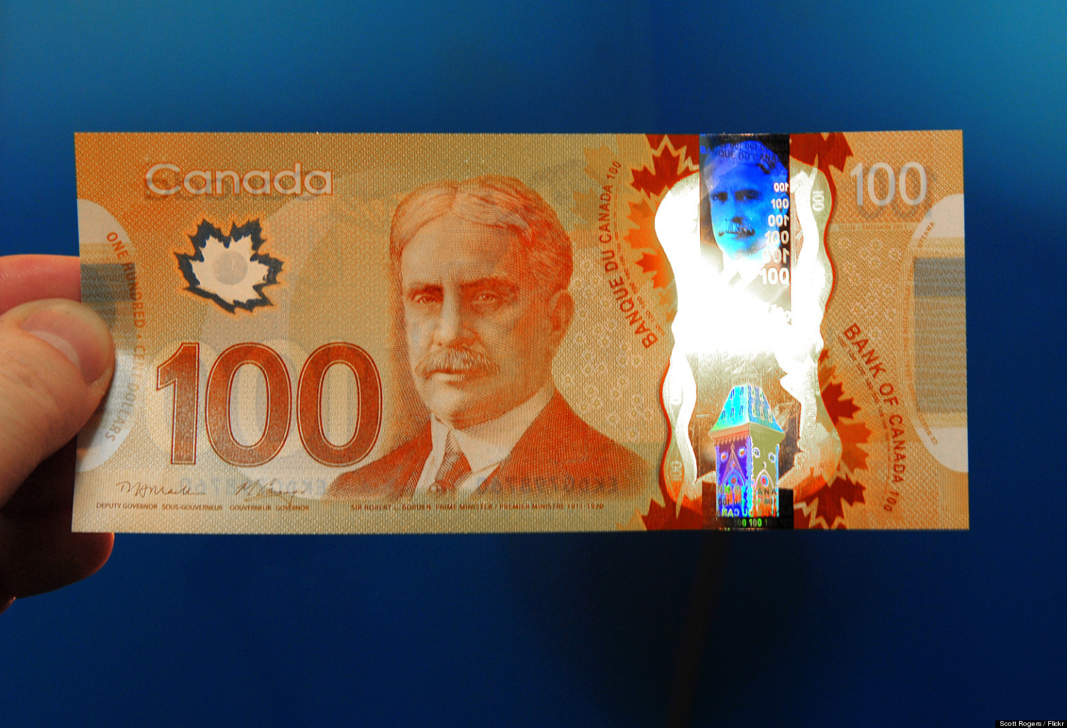 Canadians Think New 100 Bills Smell Like Maple Syrup