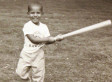 Young Obama Shows Off His Baseball Swing (PHOTO)