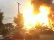 Baltimore Train Derailment: Video Shows Fire, Explosion After Rosedale Freight Train Derails