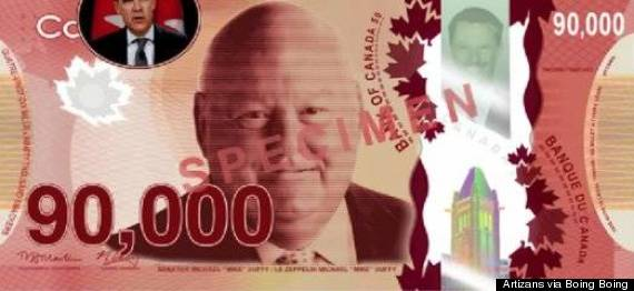mike duffy fake bill 90000