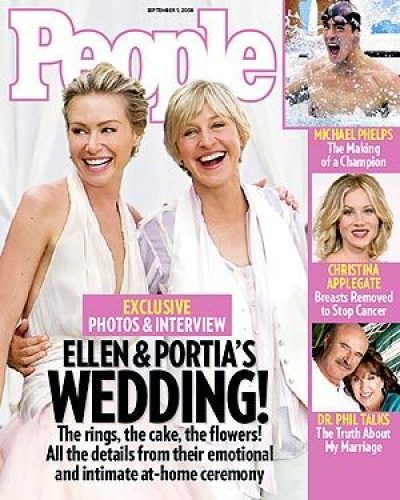 ellen portia wedding