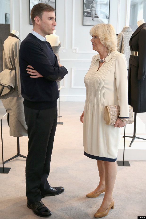 camilla duchess of cornwall raf simons
