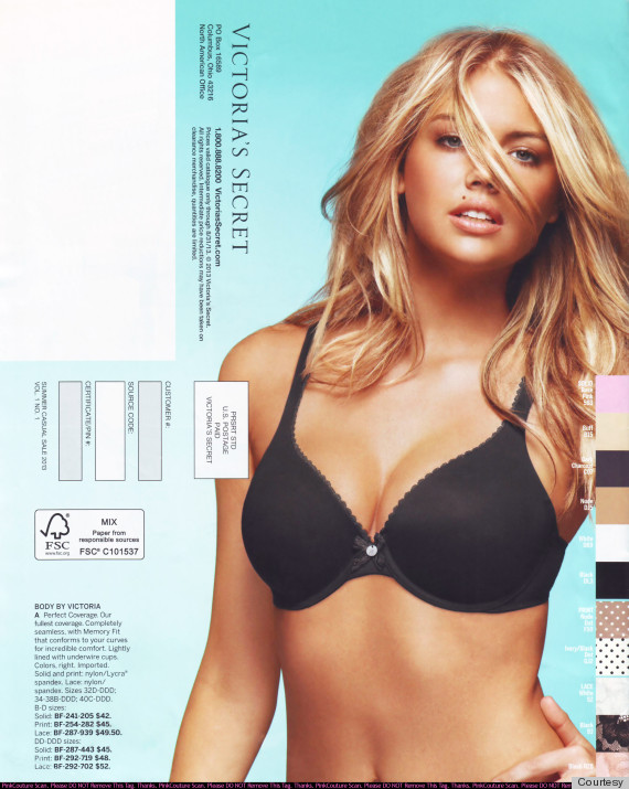 kate upton victorias secret catalogue