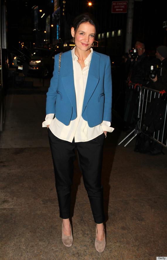 emma stone blazer