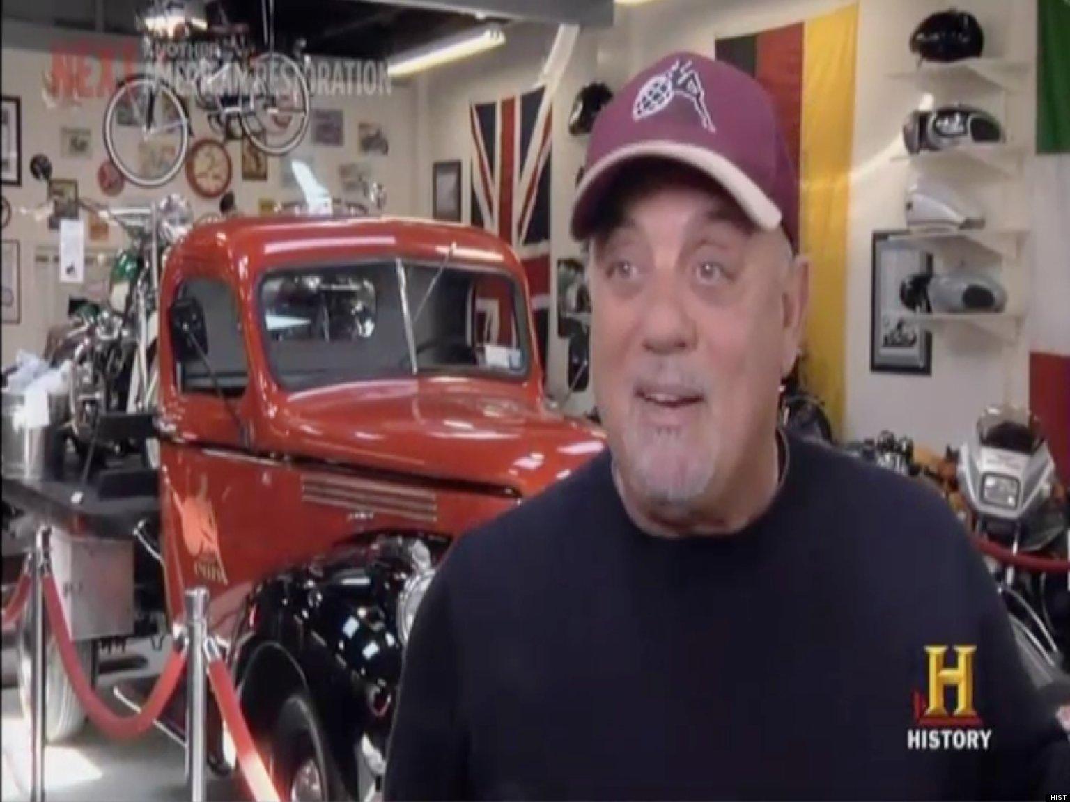 Billy Joel Gets Vintage Motorcycle Restored On 'American ...