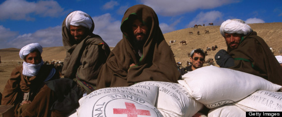 AFGHAN FORCES RESCUE RED CROSS