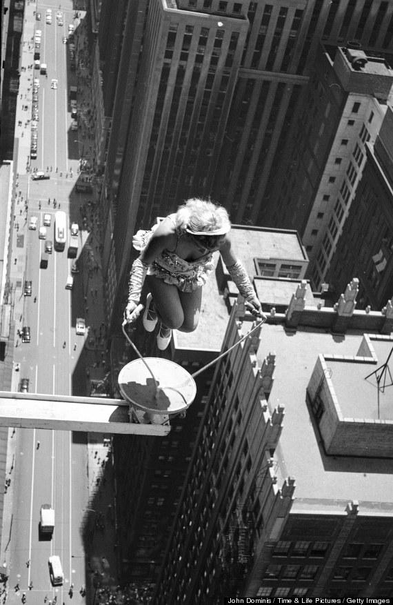 jump rope photo skyscraper