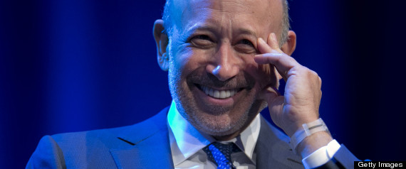 BLANKFEIN BEST PAID BANK CEO