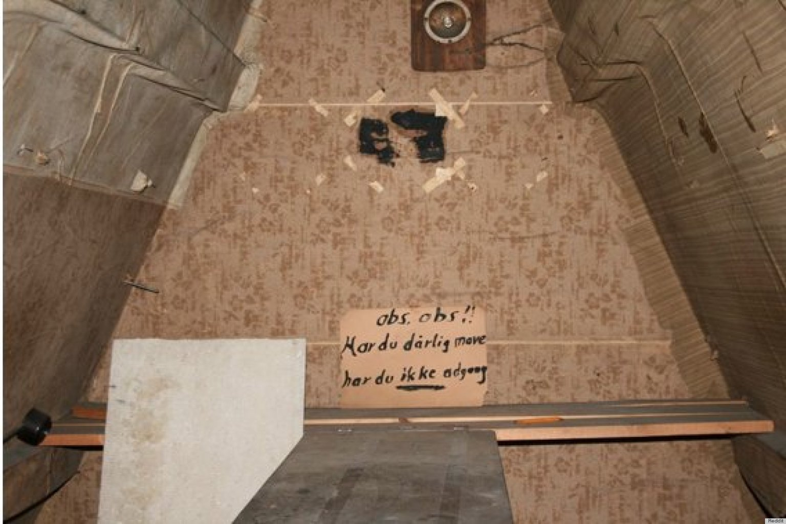 attic access door ideas - Secret Room Possibly From World War II Found In Home In