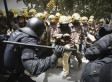 Firefighters Clash With Riot Police In Spain During Austerity Protest (PHOTOS)