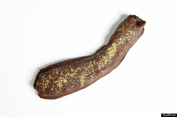 gold chocolate bacon