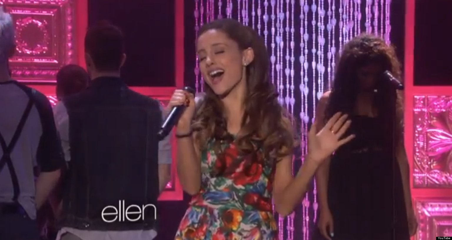 Ariana Grande Tumblr Collage 2014 Ariana Grande  Ellen  Video
