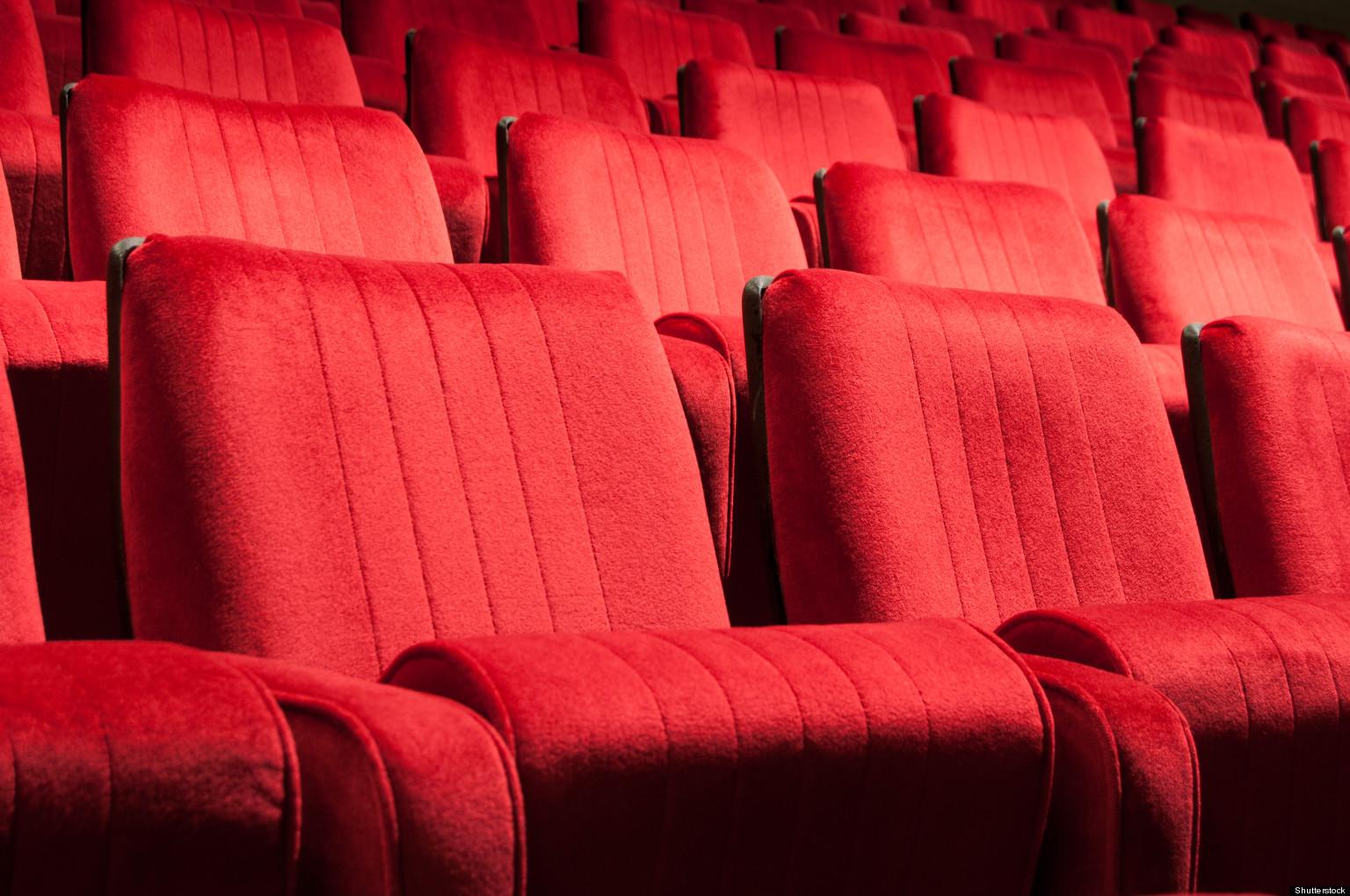 movie theatre seats used