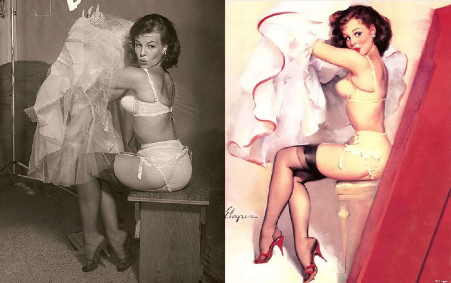 Сексуальные образы в иллюстрации художников 9 фотография