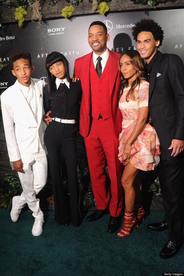 jaden smith willow smith will smith trey smith