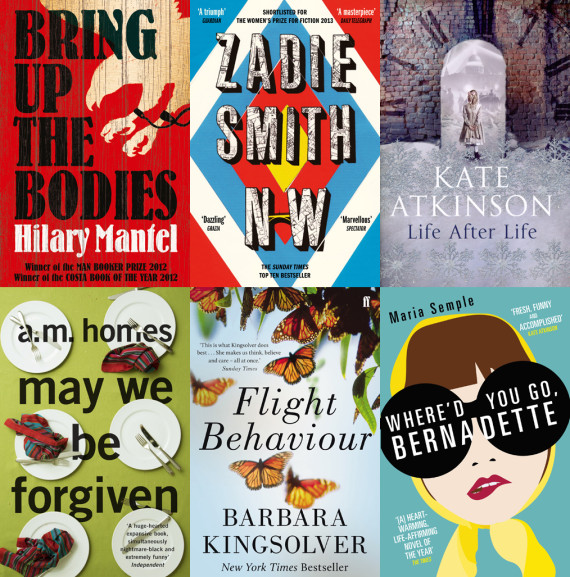 womens prize for fiction 2013 shortlist