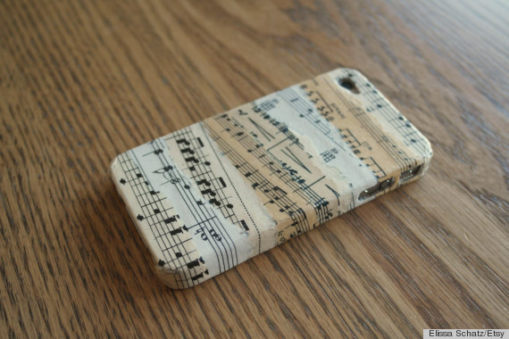 sheet music crafts