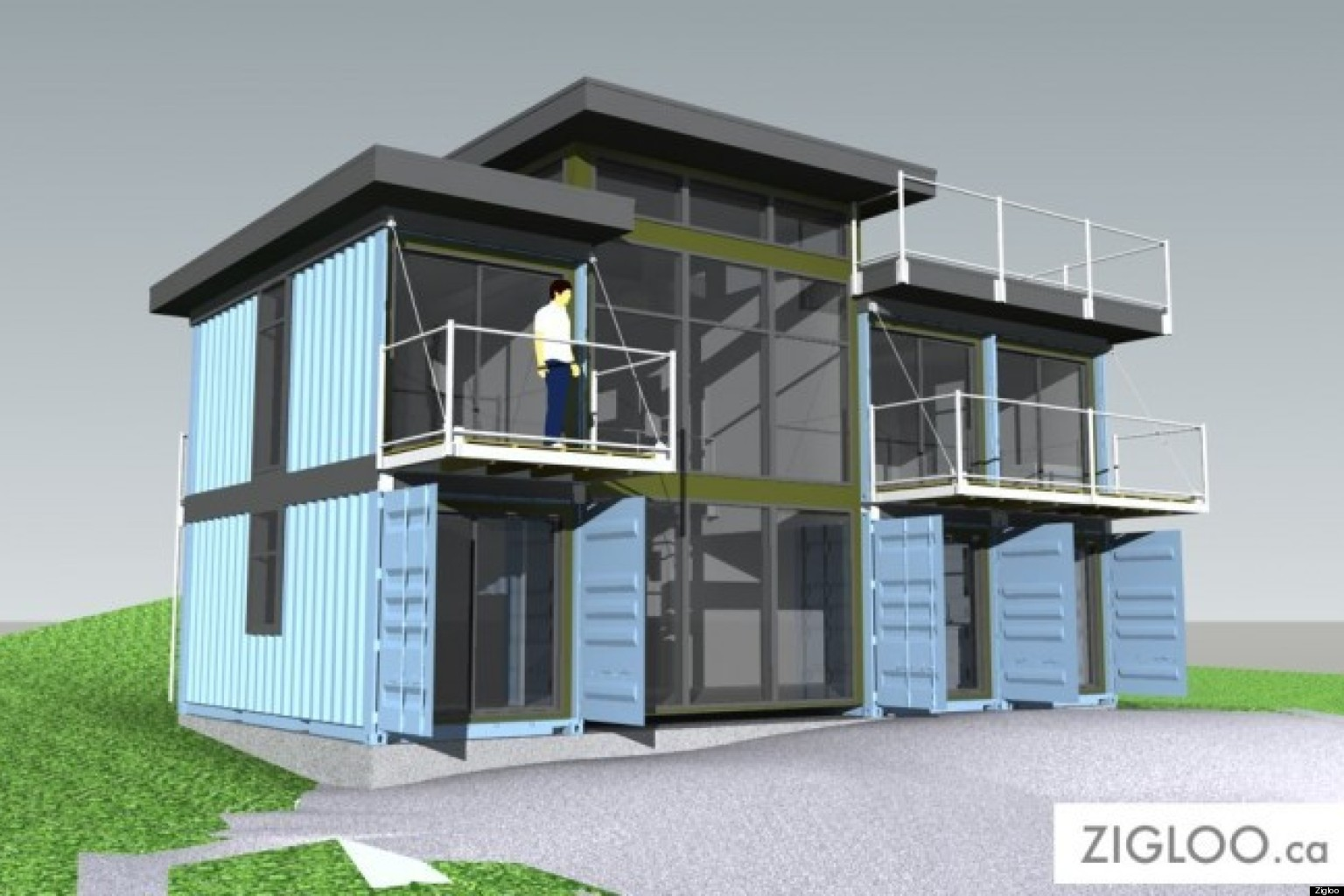 Modular homes bc designers turn shipping containers into houses - Container homes alberta ...