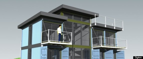 Modular homes bc designers turn shipping containers into houses - Shipping container homes canada ...