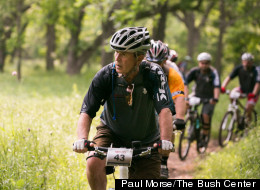 Biking With Bush: Former President Reflects On War's Legacy
