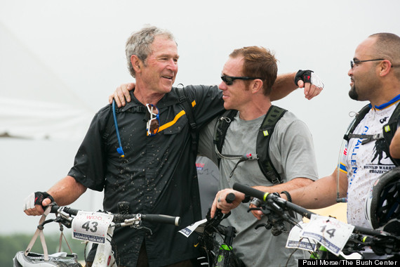 george w bush bike