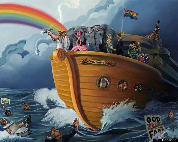 noah gay wedding cruise