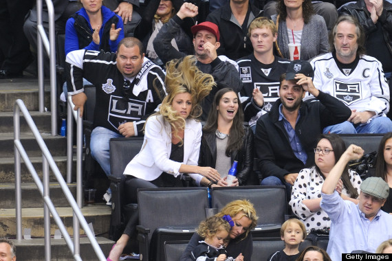 erin andrews kings game