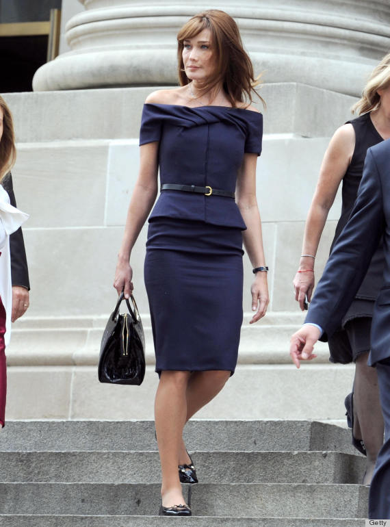 Carla Bruni: First Lady Dressing Was Actually 'A Pleasure ...