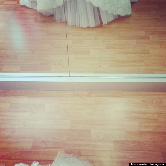 amber rose wedding dress