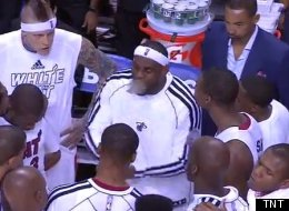 Lebron Huddle