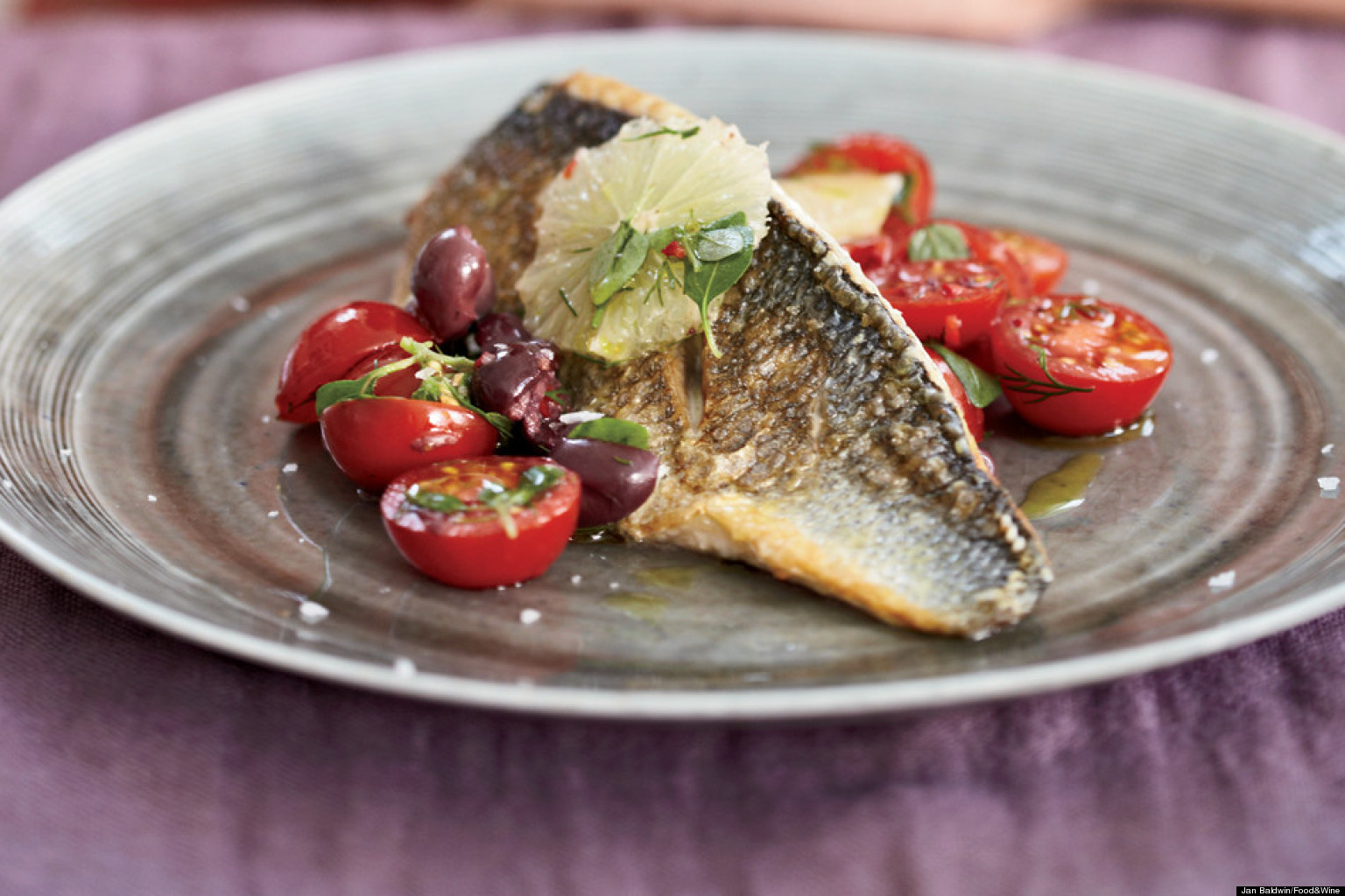 Recipe of the day sea bass for Bass fish cooking