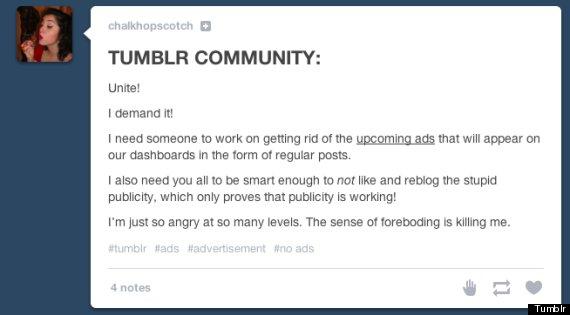 tumblr ads dashboard