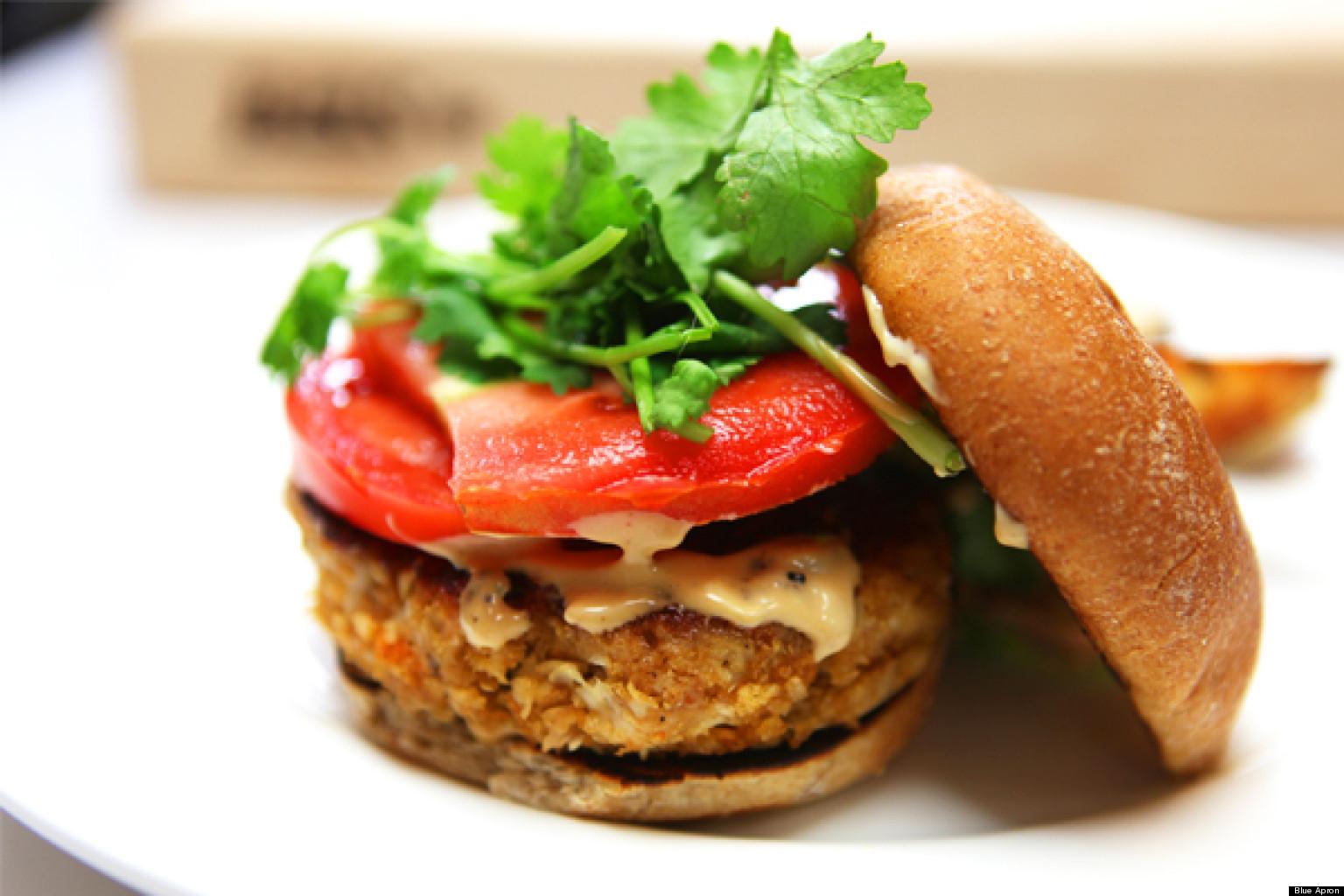 Blue apron lemongrass burger - Blue Apron Lemongrass Burger 8