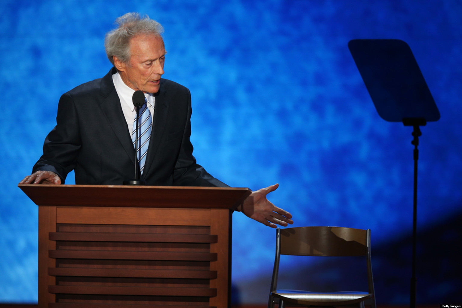 clint eastwood i thought of talking to an empty chair in