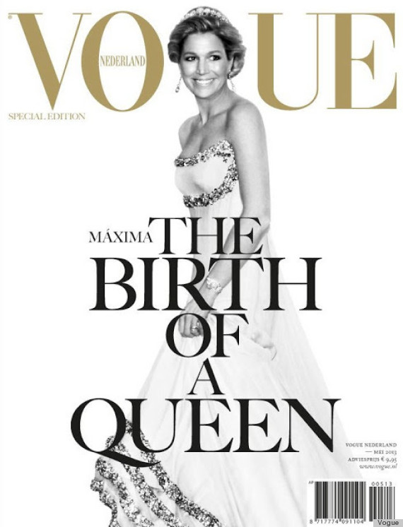 queen maxima vogue netherlands