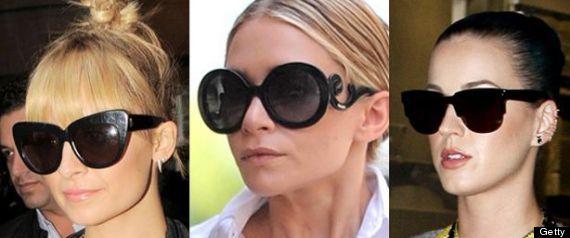 Como escolher os óculos de sol certo para seu rosto   Só Para Elas b7fb667d52