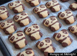 Panda Cookies Recipe Cute