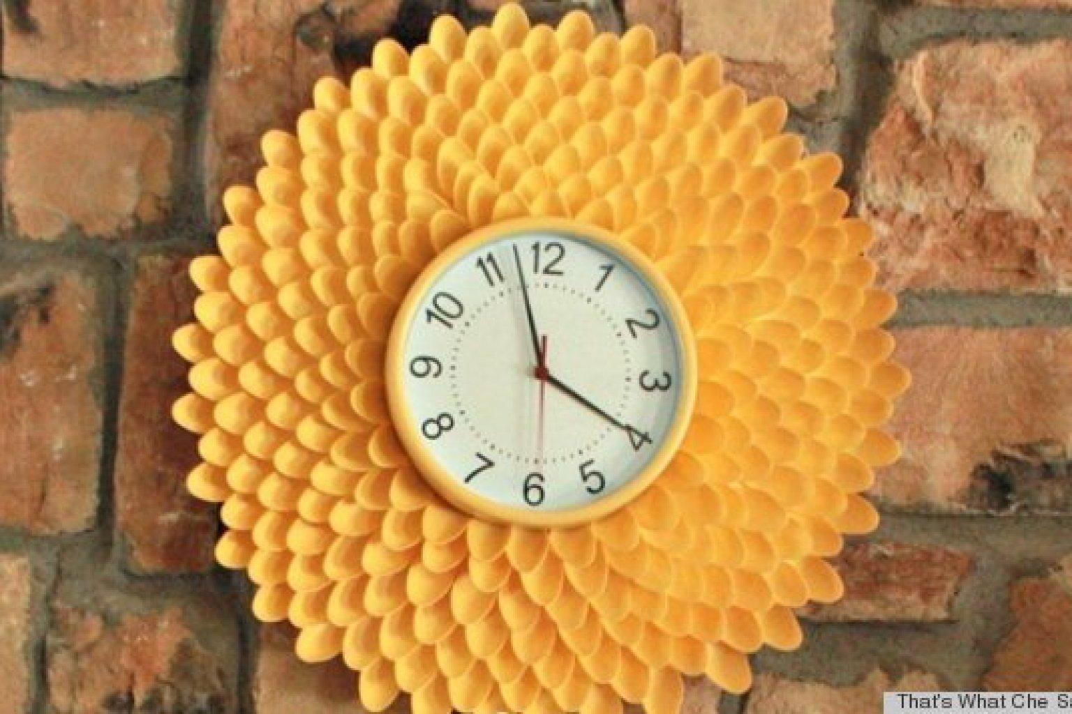 Часы своими руками : создаем из подручных материалов 76